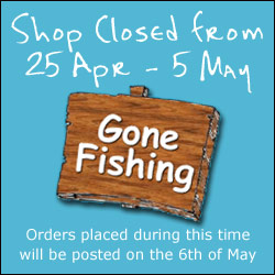 Shop Closed from 25th of April to 5th May