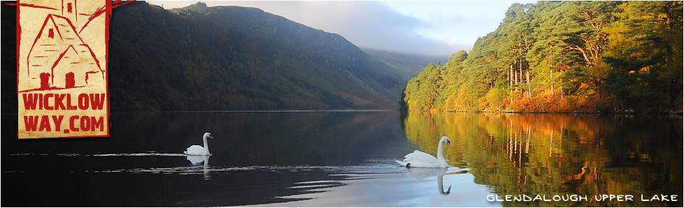 Glendalough Upper Lake, County Wicklow