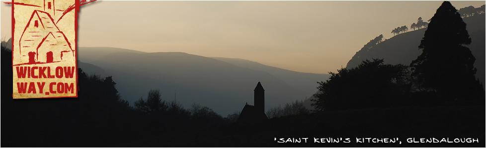 Saint Kevins Kitchen, Glendalough, County Wicklow.