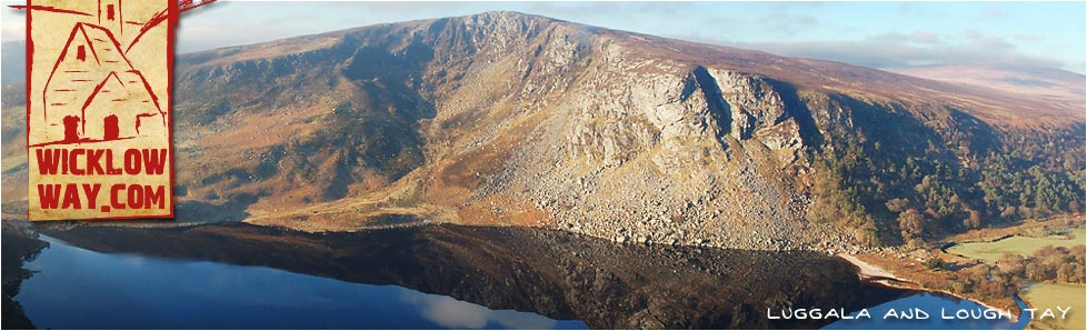 Luggala Mountain and Lough Tay, County Wicklow