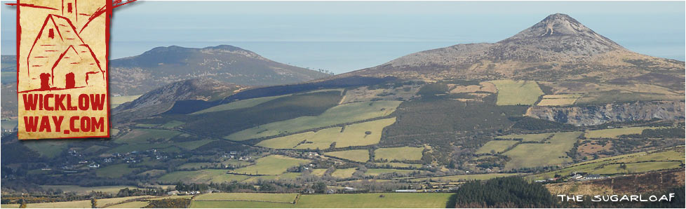 Sugarloaf Mountain viewed from Maulin, County Wicklow