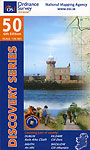 Map 50 by Ordnance Survey Ireland